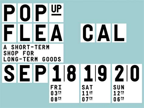 Up Los Angeles by Pop Up Flea Los Angeles Sept 18 20 Crafted American