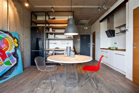 concrete apartments concrete wall apartment in krasnogorsk by studio