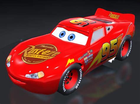 trackmania carpark  models lightning mcqueen