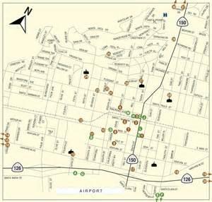 santa paula california map santa paula places to see