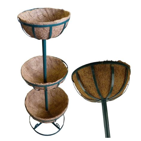 three tier hanging herb planter garden therapy 42 best images about coco planter basket on pinterest
