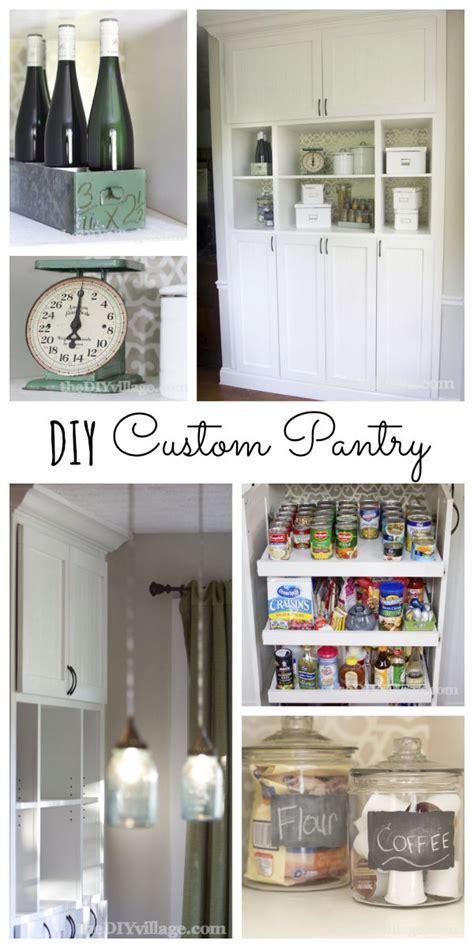 custom kitchen pantry reveal