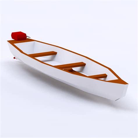 cartoon boat 3d model 3ds cartoon toon boat