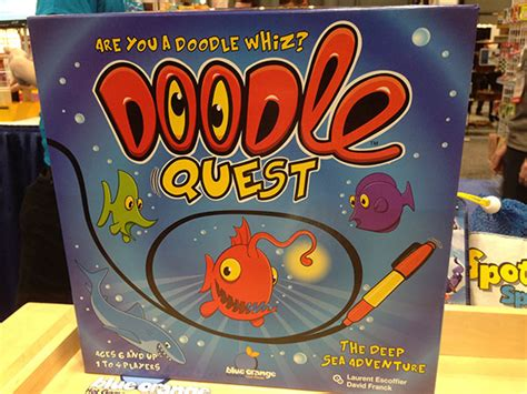 doodle quest free fair 2014 blue orange purple pawn