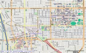 Map Of Tucson Arizona by Topofusion Com Features