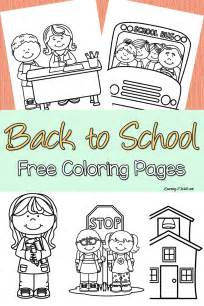back to school coloring pages free printables back to school free coloring page set