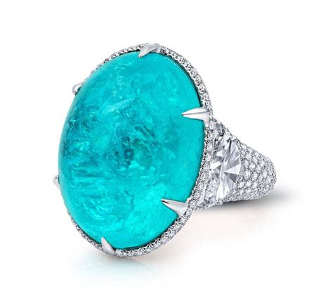 Tourmaline Paraiba paraiba tourmalines gem collector martin katz unleashes a neon glow the jewellery editor