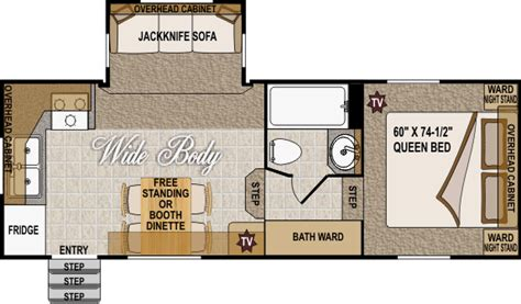 arctic fox floor plans our 2009 arctic fox 24 5n 5th wh