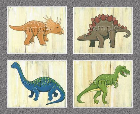printable dinosaur wall art dinosaur t rex triceratops brachiosaurus nursery boys