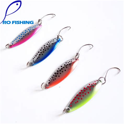 Lure Hinomiya Ul 3 5pcs 3g artificial metal fishing lure set fishing spinner