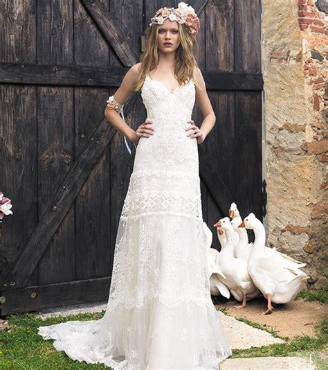 Bohemian Brautkleid by Brautkleider Im Bohemian Style Mit Spitze Kurz Oder Auch