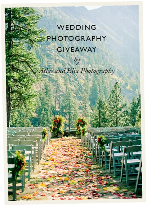wedding photography giveaway from atlas and elia wedding day giveaways - Honeymoon Giveaways 2014