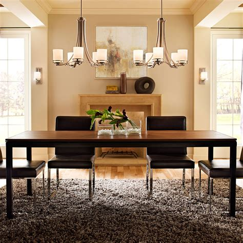 Lighting Fixtures For Dining Room Dining Room Lighting Gallery From Kichler