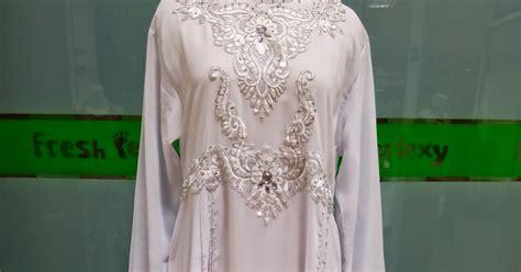 Baju Gamis Putih Surabaya desain terbaru model gamis putih 2016