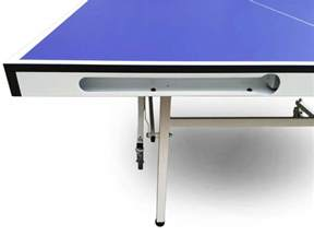 new model single folding ping pong table mdf material
