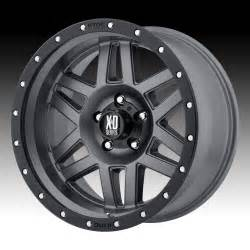 Xd Custom Truck Wheels Kmc Xd Series Xd128 Machete Matte Gray Custom Wheels Rims