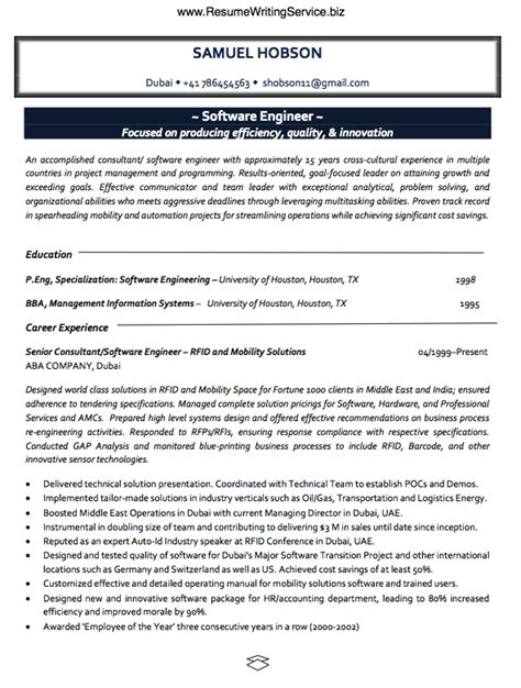 engineering resume writing services take a software engineer resume sle here resume