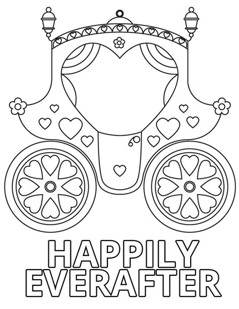 printable disney wedding coloring pages happily ever after free printable coloring pages