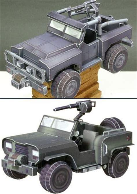 Papercraft Jeep - warhawk jeep papercrafts papercraft paradise