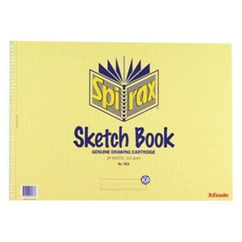 Spirax No 533 A3 Sketch Book 20 Sheet Officeworks
