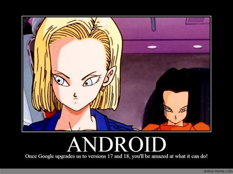 android anime android anime meme