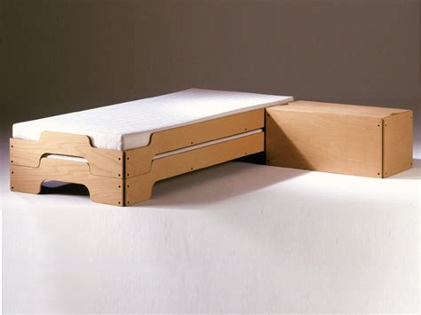 stackable beds stackable single bed stackable bed by m 252 ller m 246 belwerkst 228 tten design rolf heide