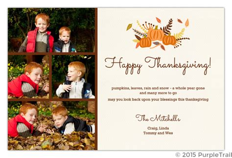 collage of leaves thanksgiving card 100 images stin up