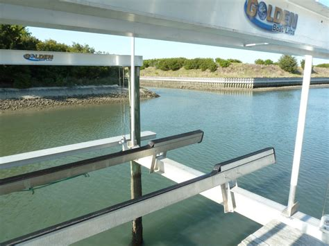 aluminum fishing boat lift golden boat lifts the hull truth boating and fishing forum