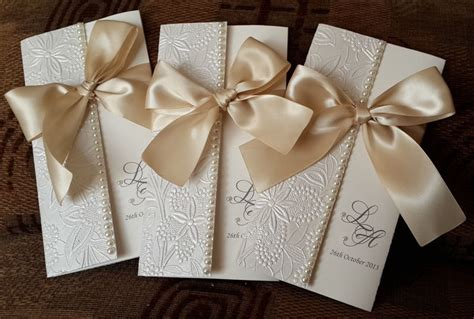 Handmade Invites Wedding - beautiful handmade wedding invitations clasf