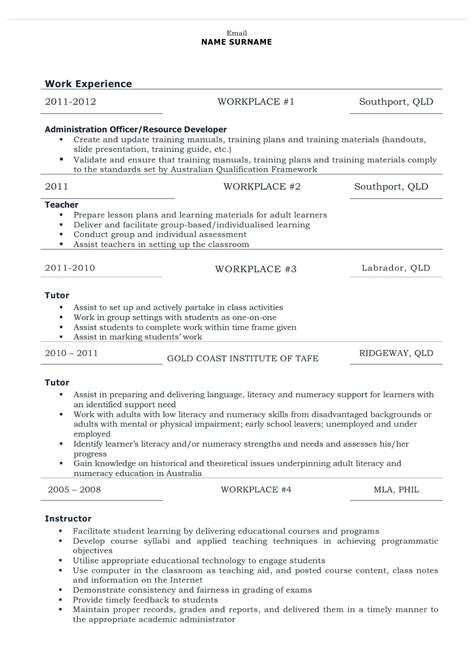 sle combination resumes combination resume exles 28 images combination resume