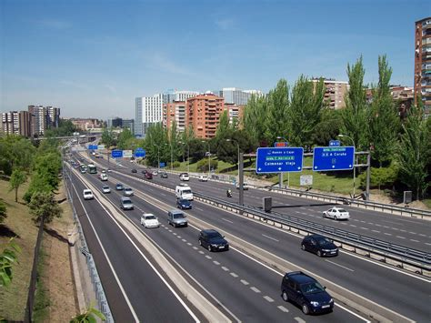 Madrid Spain Search File M 30 Madrid Spain 11 Jpg Wikimedia Commons