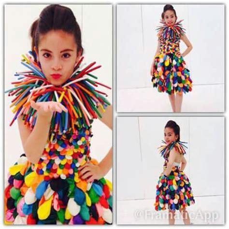 disfraces con materiales reciclados para ni os disfraces hechos con materiales reciclados vestidos