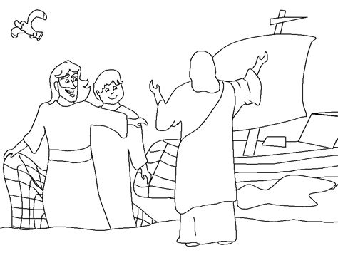 coloring pages for jesus and his disciples disciples of jesus coloring pages jesus calls his