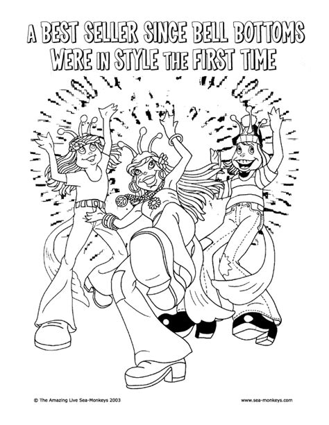 sea monkey coloring pages sea monkey coloring page animals town animals color