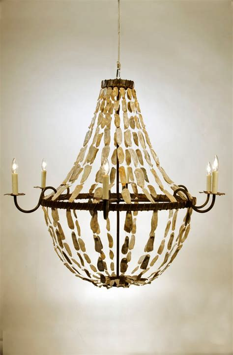 Oyster Chandelier Oyster Shell Chandelier Ideas Homesfeed