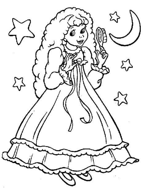 princess coloring pages free az coloring pages