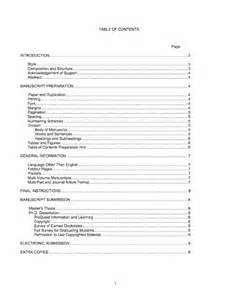 Word Report Template With Table Of Contents 20 Table Of Contents Templates And Examples Template Lab