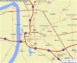 Map Of Baton Rouge Louisiana by Baton Rouge Map Travel Map Vacations