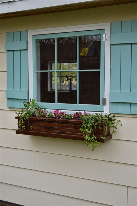 make window get ready for spring with window boxes