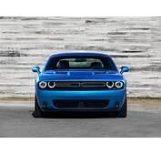 Dodge  Challenger 2015 Muscle Car Wallpaper Blue Front