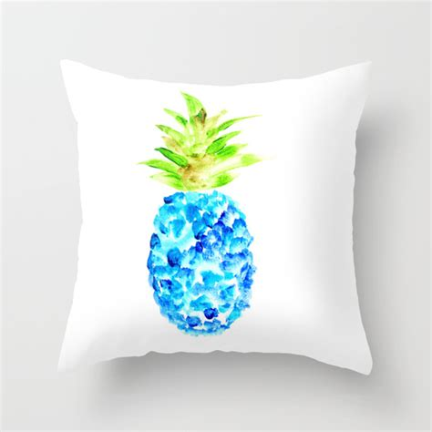 Pineapple Pillows by Blue For Summer New Work In The Shop