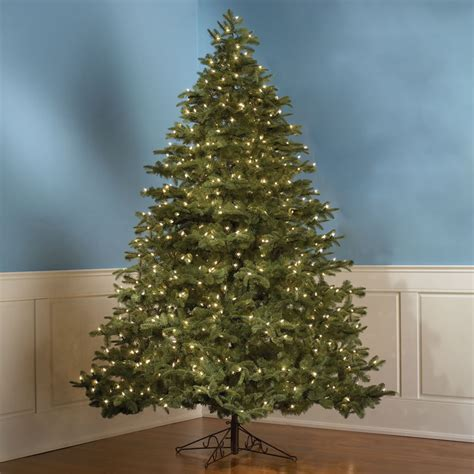 the world s best prelit christmas tree 14 foot hammacher