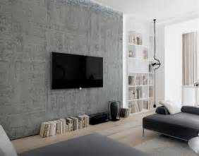 Living Room With Wall Mounted Tv 18 Chic And Modern Tv Wall Mount Ideas For Living Room