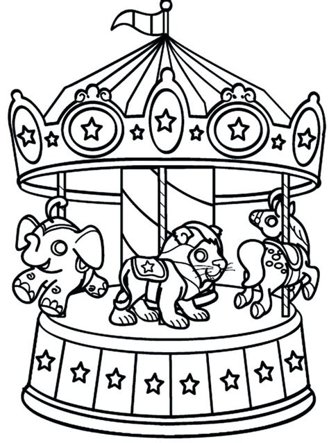 carnival of animals coloring pages