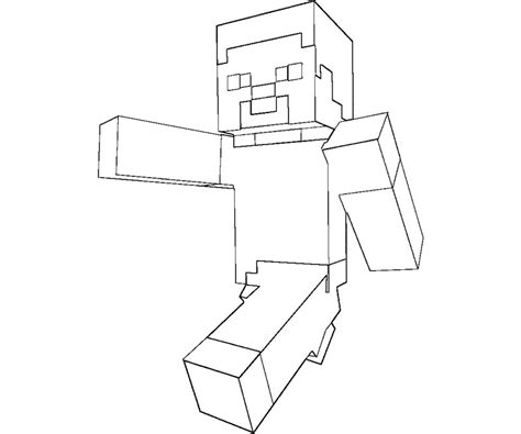 minecraft steve coloring pages free free coloring pages of steve minecraft pages