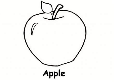 preschool coloring pages apple 131 best miscellaneous coloring pages images on pinterest