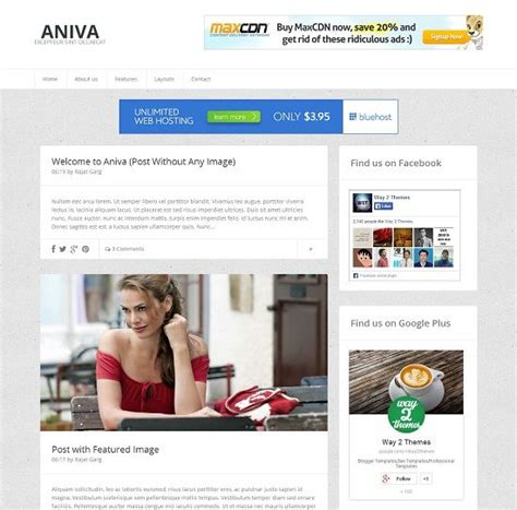 aniva simple blogger template 187 abtemplates com