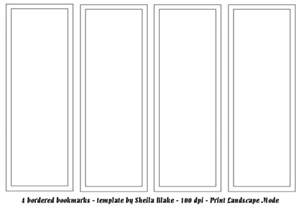 bookmark templates free bookmark template s place templates 4