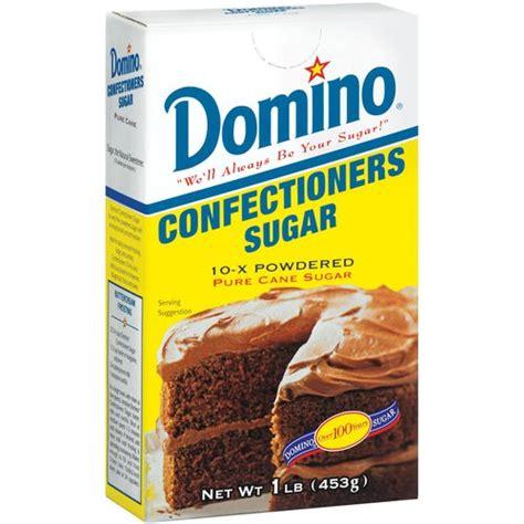 domino pure cane confectioners 10 x powdered sugar 1 lb walmart com