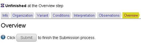 Help Desk Nih Clinvar Single Submission Wizard Ncbi